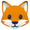 Fox Face on EmojiOne 4.0