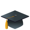 Graduation Cap on EmojiOne 4.0