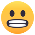 Grimacing Face on EmojiOne 4.0