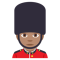 Guard: Medium Skin Tone on EmojiOne 4.0