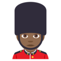Guard: Medium-Dark Skin Tone on EmojiOne 4.0