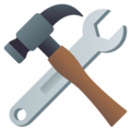Hammer and Wrench on EmojiOne 4.0