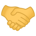 Handshake on EmojiOne 4.0