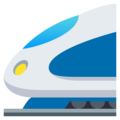 High-Speed Train on EmojiOne 4.0