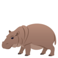 Hippopotamus on EmojiOne 4.0