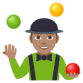 Person Juggling: Medium Skin Tone on EmojiOne 4.0