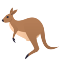 Kangaroo on EmojiOne 4.0