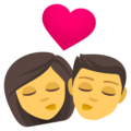 Kiss on EmojiOne 4.0