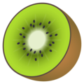Kiwi Fruit on EmojiOne 4.0