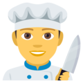 Man Cook on EmojiOne 4.0
