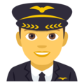 Man Pilot on EmojiOne 4.0