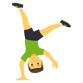 Man Cartwheeling on EmojiOne 4.0