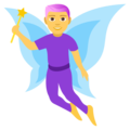 Man Fairy on EmojiOne 4.0