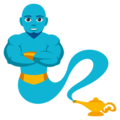 Man Genie on EmojiOne 4.0