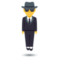 Man in Suit Levitating on EmojiOne 4.0
