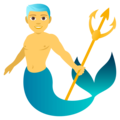 Merman on EmojiOne 4.0