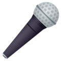 Microphone on EmojiOne 4.0