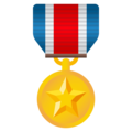 Military Medal on EmojiOne 4.0