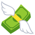Money With Wings on EmojiOne 4.0