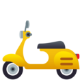 Motor Scooter on EmojiOne 4.0