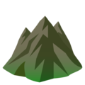Mountain on EmojiOne 4.0