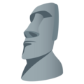 Moai on EmojiOne 4.0