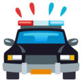 Oncoming Police Car on EmojiOne 4.0