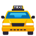 Oncoming Taxi on EmojiOne 4.0