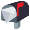 Open Mailbox With Raised Flag on EmojiOne 4.0