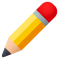 Pencil on EmojiOne 4.0