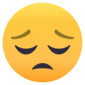Pensive Face on EmojiOne 4.0