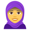 Woman With Headscarf on EmojiOne 4.0