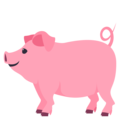 Pig on EmojiOne 4.0
