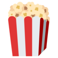 Popcorn on EmojiOne 4.0