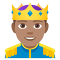 Prince: Medium Skin Tone on EmojiOne 4.0