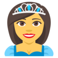 Princess on EmojiOne 4.0