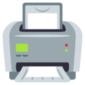 Printer on EmojiOne 4.0