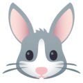 Rabbit Face on EmojiOne 4.0