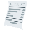 Receipt on EmojiOne 4.0