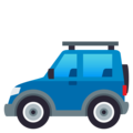 Sport Utility Vehicle on EmojiOne 4.0
