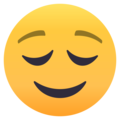 Relieved Face on EmojiOne 4.0