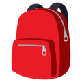 Backpack on EmojiOne 4.0