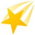 Shooting Star on EmojiOne 4.0