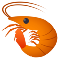 Shrimp on EmojiOne 4.0