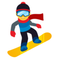Snowboarder on EmojiOne 4.0