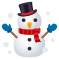Snowman on EmojiOne 4.0