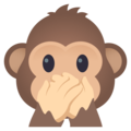 Speak-No-Evil Monkey on EmojiOne 4.0