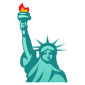 Statue of Liberty on EmojiOne 4.0