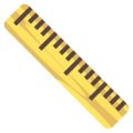 Straight Ruler on EmojiOne 4.0