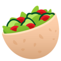 Stuffed Flatbread on EmojiOne 4.0